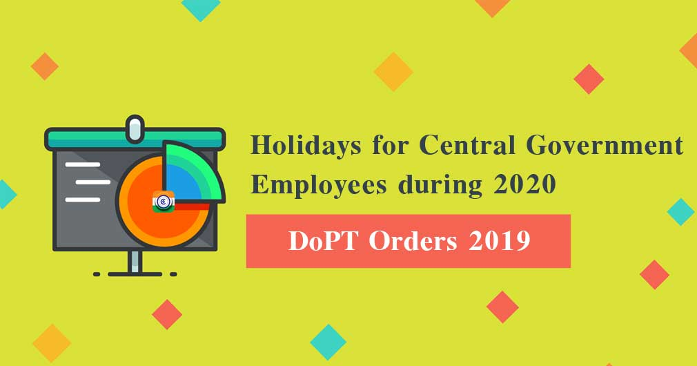 Central-Government-Holiday-list-2020