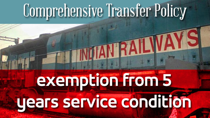 Comprehensive Transfer Policy Indian Railways