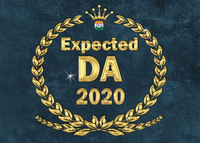 Expected DA January 2020 - Expected to increase by 4% from 17% to 21% and  by 9% increase in 6th CPC DA - CENTRAL GOVERNMENT EMPLOYEES ORDERS