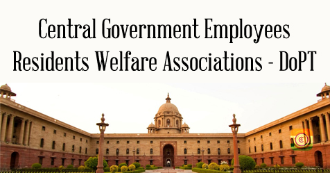 Revisions to the Model Constitution for Residents Welfare Associations of Central Government Employees