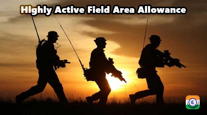 From 1 January 2021 to 31 December 2021, the Ministry of Defense will grant a Highly Active Field Area Allowance