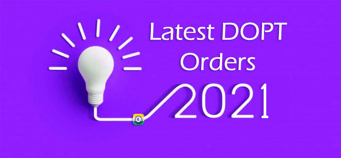 From the assessment year 2020-2021 - DoPT, the Performance Appraisal Report will be automatically forwarded.