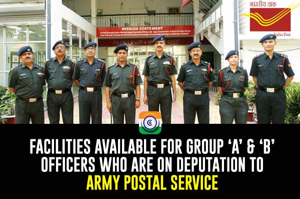 DEPUTATION TO ARMY POSTAL SERVICE